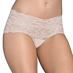 Sloggi - Natural light lace short