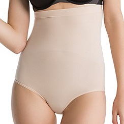 Spanx - Nude 'Power Series' high-waisted briefs