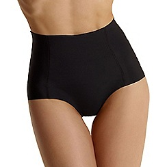 Debenhams - Black 'Invisible' high leg shapewear pants