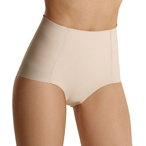 Debenhams - Natural +Invisible+ low leg shapewear pants