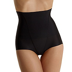 Debenhams - Black 'Invisible' high waist shapewear pants