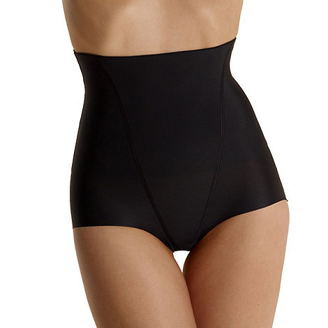 Debenhams - Black +Invisible+ high waist shapewear pants