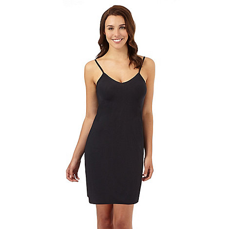 Debenhams - Black mini length invisible slip