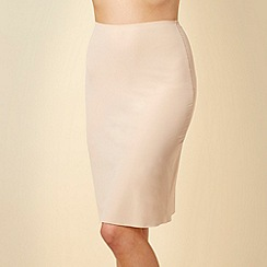 Debenhams - Natural long length half slip