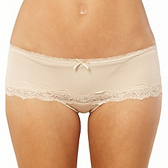 Debenhams - Natural bandeau shorts