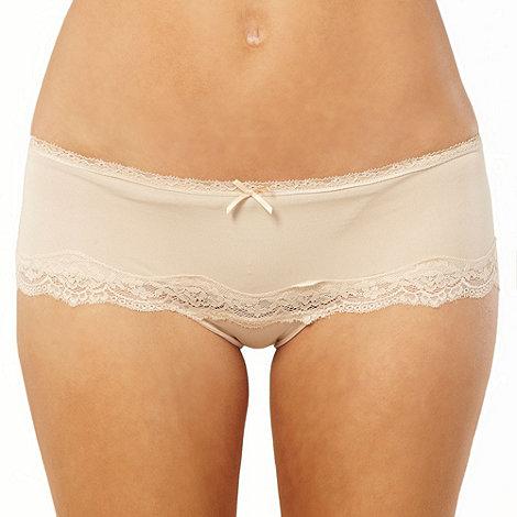 Debenhams - Natural bandeau shorts