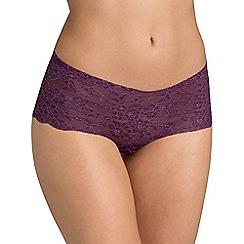Triumph - Purple light lace shorts