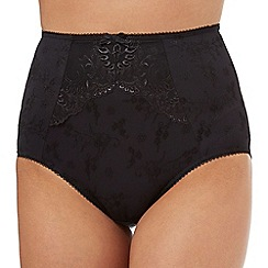 The Collection - Black lace full briefs