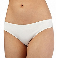 Debenhams - Ivory invisible brazilian briefs