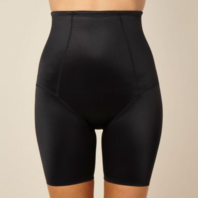 Black Firm Control thigh slimmer shorts