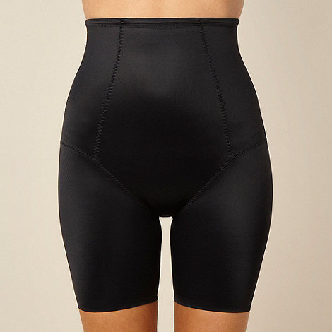 Debenhams - Black +Firm Control+ thigh slimmer shorts