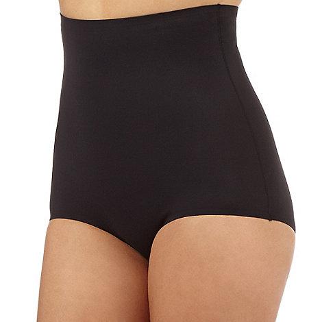 Debenhams - Black firm control comfort high waist brief