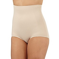 Debenhams - Nude firm control high waisted comfort briefs
