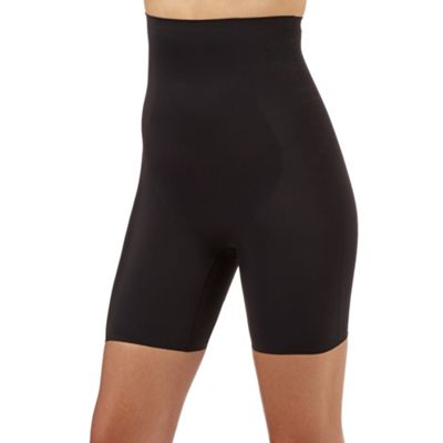 Black firm support thigh slimmers