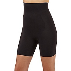Debenhams - Black firm control comfort thigh slimmer