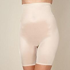 Debenhams - Natural medium control lightweight thigh slimmers