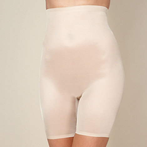 Debenhams - Natural medium control lightweight thigh slimmers