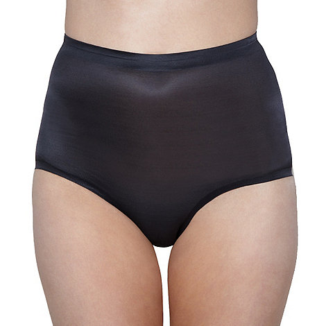 Debenhams - Black lightweight power control briefs