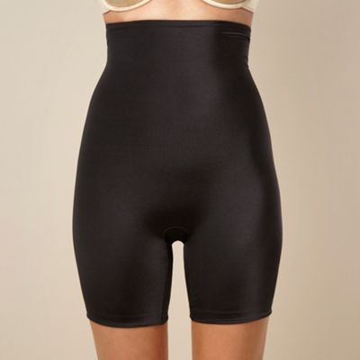 Black core controllers high-waist mid-thigh