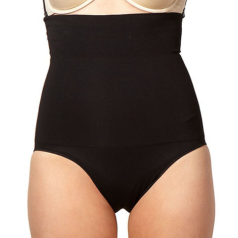 Assets Red Hot Label by Spanx - Black focused firmers high-waist panty