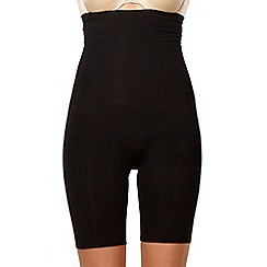 Assets Red Hot Label by Spanx - Black focused firmers high-waist mid-thigh