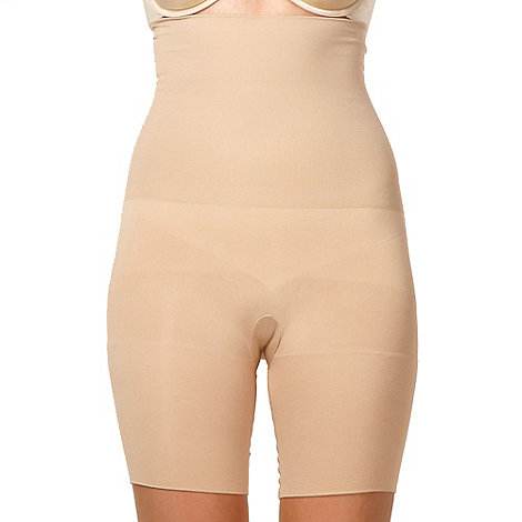 Assets Red Hot Label by Spanx - Nude focused firmers high-waist mid-thigh