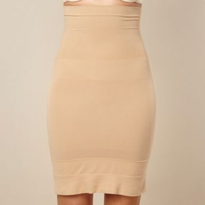 Nude focused firmers high-waist half slip