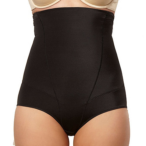 Assets Red Hot Label by Spanx - Black silhouette serums high-waist panty