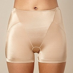 Assets Red Hot Label by Spanx - Nude silhouette serums butt-boosting girl short