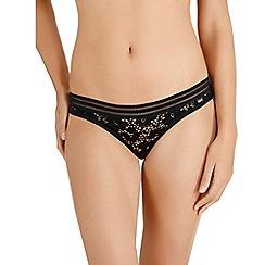 Bonds - Black lace bikini knickers