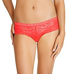 Bonds - Red lace shorts