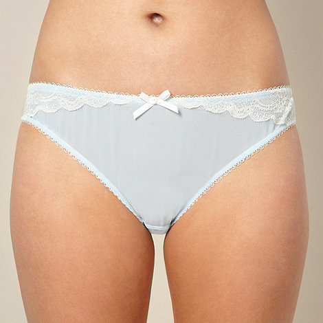 Presence - Light blue chiffon hipster briefs