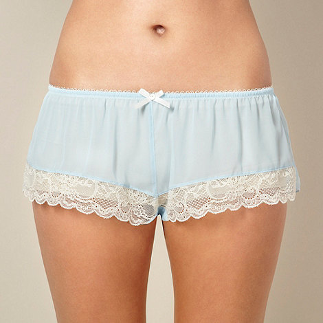 Presence - Light blue chiffon shorts