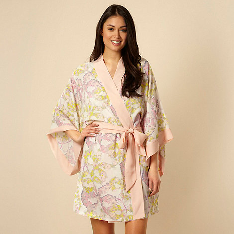 B by Ted Baker - Pink floral kimono