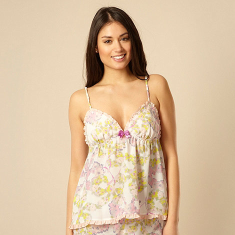 B by Ted Baker - Pink floral pyjama camisole