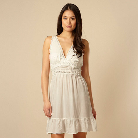 B by Ted Baker - White broidery chemise