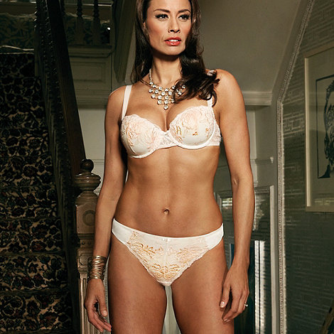 Adore Moi by Ultimo - Cream +Brandy+ balcony bra