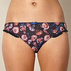 B by Ted Baker - Black floral hipster briefs