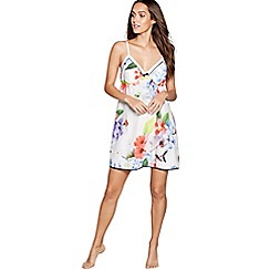 B by Ted Baker - Multi-coloured cotton blend 'Forget Me Not Floral' chemise