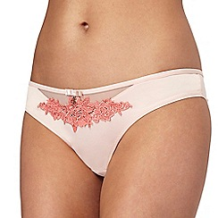 B by Ted Baker - Pink lace bikini knickers