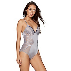 B by Ted Baker - Grey lace body