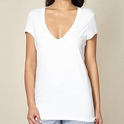 Princesse Tam Tam - White plain pyjama t-shirt