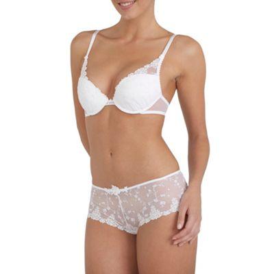 White White Night push up bra