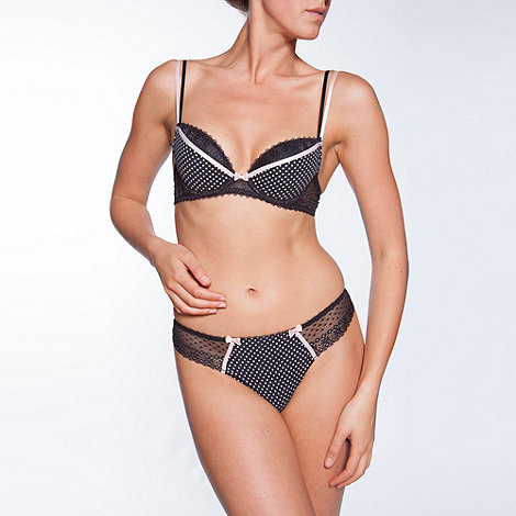 Passionata - Black +Lovely+ plunge bra