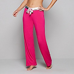 B by Ted Baker - Pink floral print 'Citrus Bloom' pyjama bottoms