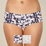 Pack of two pink floral shorts
