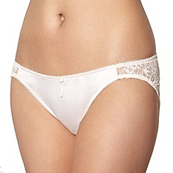Von Follies by Dita Von Teese - Light pink lace side briefs