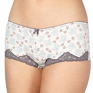 Pack of two light blue rose shorts