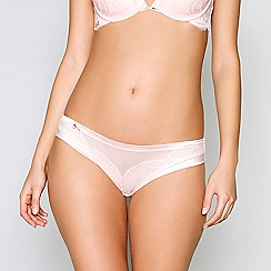 B by Ted Baker - Pink lace Brazilian knickers