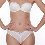 Ivory 'Mon Amour' strapless bra